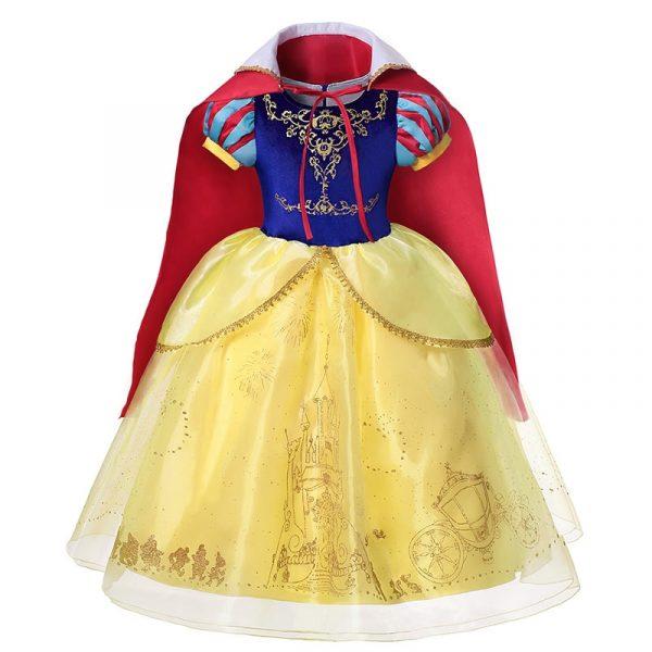 Robe de princesse d'été pour filles, Costumes Elsa et Anna, vêtements de fête pour enfants, motif licorne Tianan Belle, pour filles arabes, 2021