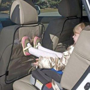 Protection de siège de voiture, housse de Protection de dossier pour enfants, nettoyage Transparent, coussin Anti-coup de pied, accessoires de pièces automobiles
