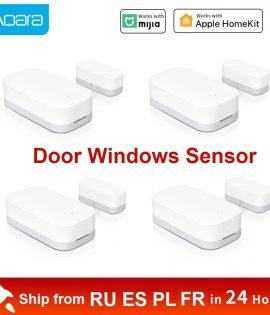 Xiaomi Aqara Door Window Sensor Smart Zigbee Wireless Connection Mini Door Sensor Work With Gateway Hub For Homekit Mi Home App
