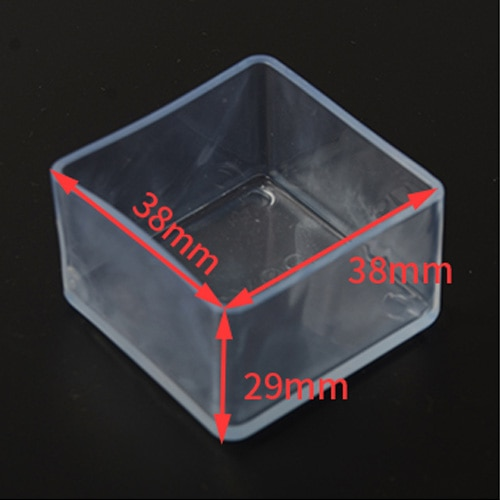 Brand New Rubber Chair Leg Caps Non-slip Square Table Foot dust Cover Socks Floor Protector pads Pipe Plugs Furniture feet