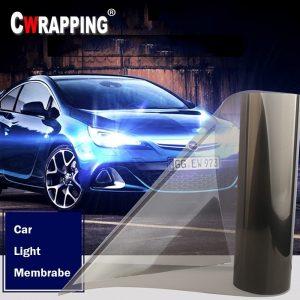 40*150cm Auto Car Smoke Fog Light Headlight Taillight Tint Vinyl Film Sheet Sticker Waterproof Car Body Film Cover Car Styling