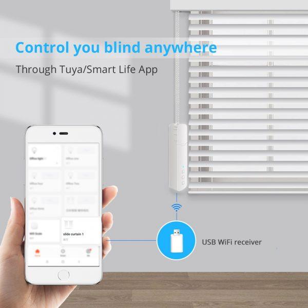Zemismart Tuya WiFi Blind Driver with Battery Roller Shade Roman Blind Motor Alexa Google Assistant Voice Control RF