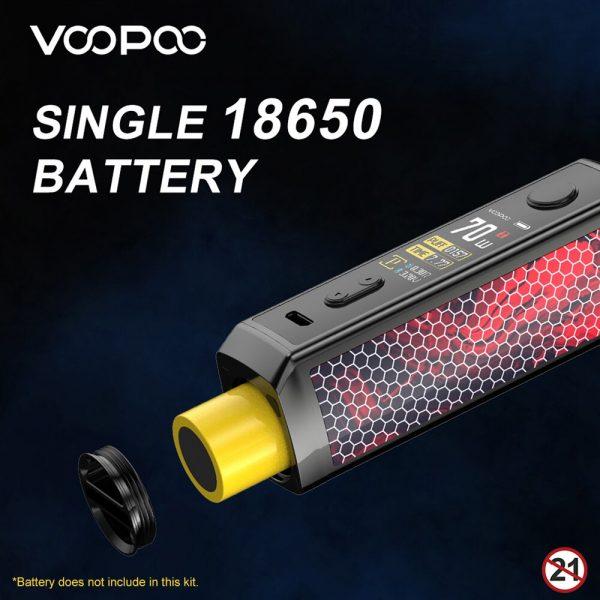 VOOPOO – Kit Mod Pod VINCI X 70W, cartouche 5.5ml, GENE.AI Chip, batterie 18650, système de vapoteur, E-Cigarette, écran TFT 0.96 pouces