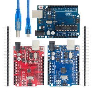 Carte de développement UNO R3 CH340G + MEGA328P avec câble USB ATEGA328P, puce SMD 16Mhz pour Arduino, un ensemble,