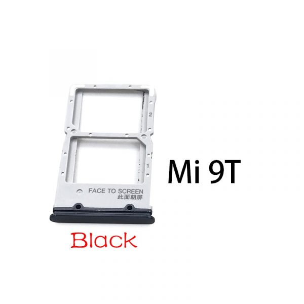 Nouveau pour Xiaomi Redmi K20 K20 Pro pour Xiaomi Mi 9T support de fente pour plateau de carte SIM pour Xiaomi Mi 10 Mi10 Pro Lite