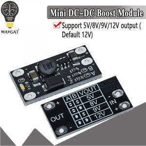 Module de suralimentation multifonction avec indicateur LED, mini batterie au lithium de tension 3.7 V, 5 V, 8 V, 9V ET 12V DIY, 1.5A