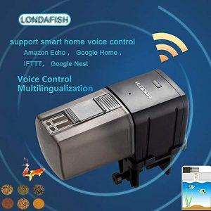 Aquarium fish tank intelligent Wi-Fi fish feeder automatic feeder app timer quantitative control