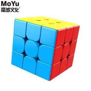MoYu Meilong — Cube magique, 3x3x 3, pour étudiants, jeu éducatif sans colle, puzzle en forme de cube, vitesse de niveau professionnel