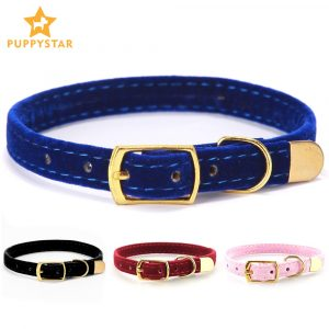 Cat Collar With Bell Safety Cat Collars Puppy Dog Collar For Cats Small Dogs Kittens Solid Pet Collar Chihuahua Products YS0032