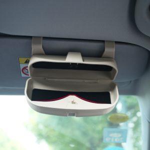 Car Glasses Box Storage Holder Sunglasses Case for BMW X1 X3 F25 X5 F15 F85 F20 F21 F30 F35 F80 F32 F33 F48 F82 F83 F10 F18 F11