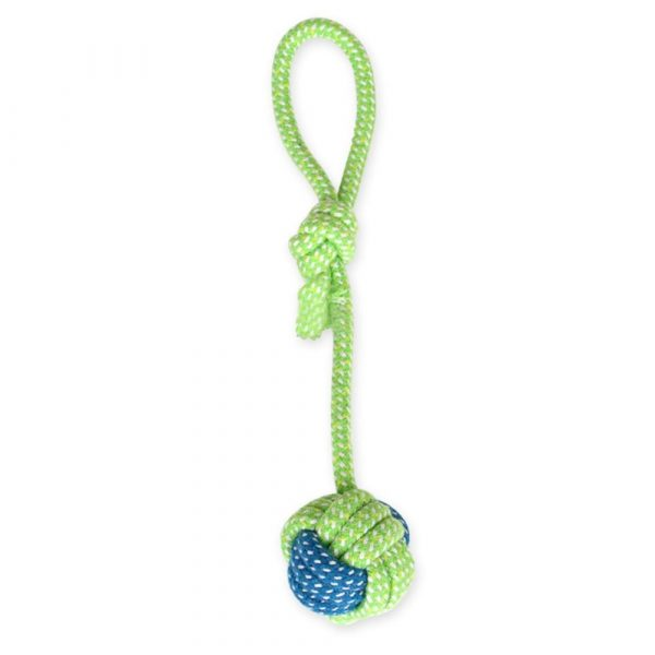 14style Pet Dog Toys Cotton Ball Puppy Chew Molar Toy Teeth Clean Green Rope Durable Braided Rope Funny Tool For Outdoor Traning