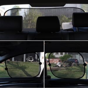 2019 New Car Window Sunshade Covers Universal Windshield Car Sun Shade Curtain Auto Sun Visor Protection Kids Car Accessories