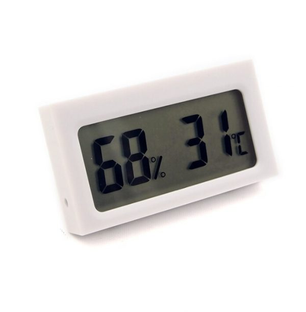 Digital LCD Thermometer Hygrometer for Pet Ant Farm Reptiles Turtle Box Temperature Sensor Humidity Meter Insect Box Accessories