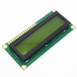 Écran LCD, 16x 2, 5 V, pour Arduino, module d'affichage, en code blanc, vert, 1 pièce, 1602, LCD1602,