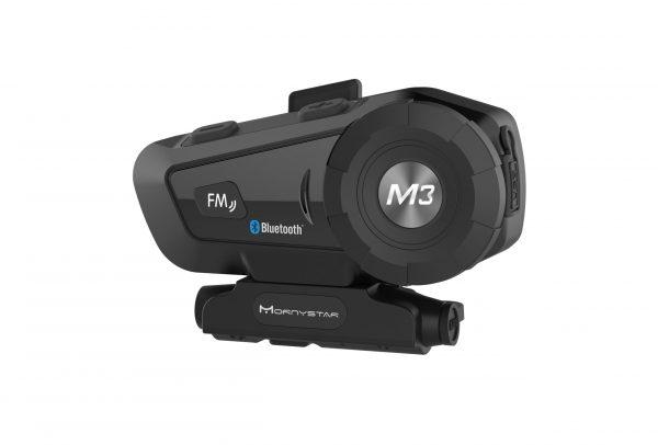 Helmet Bluetooth Headset Motorcycle Mornystar M3 Plus Multi-functional Stereo Headphones For Two Way Raido Easy Rider Series