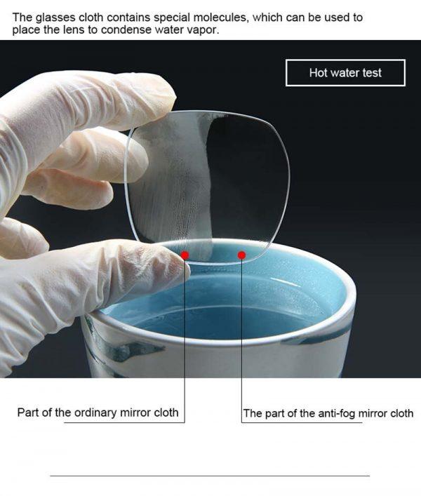 Stgrt – tissu Anti-buée pour lentilles de lunettes, 7 pièces/lot, peut durer longtemps après avoir été essuyé, meilleure durabilité