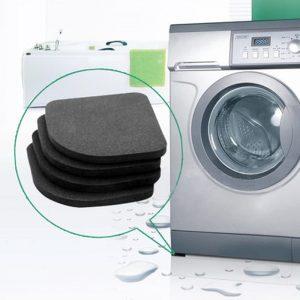Tapis antichocs pour machine à laver, haute qualité, antidérapant, réfrigérateur, Anti-vibration, qualité 4