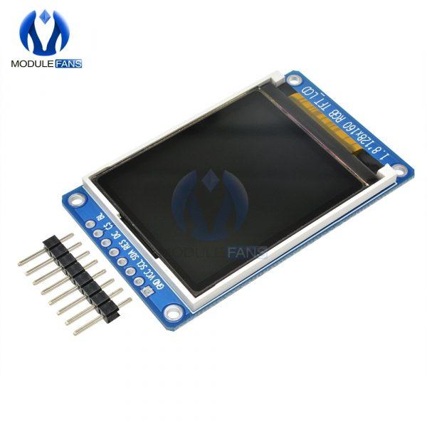 Panneau d'affichage polychrome, LCD, TFT IPS, module coloré de remplacement OLED, 0,96/1,3/1,44/1,8 pouces, de série, résolution 128 x 128, 128 x 160, 80 x 160, 240 x 240, couleur 65K, SPI