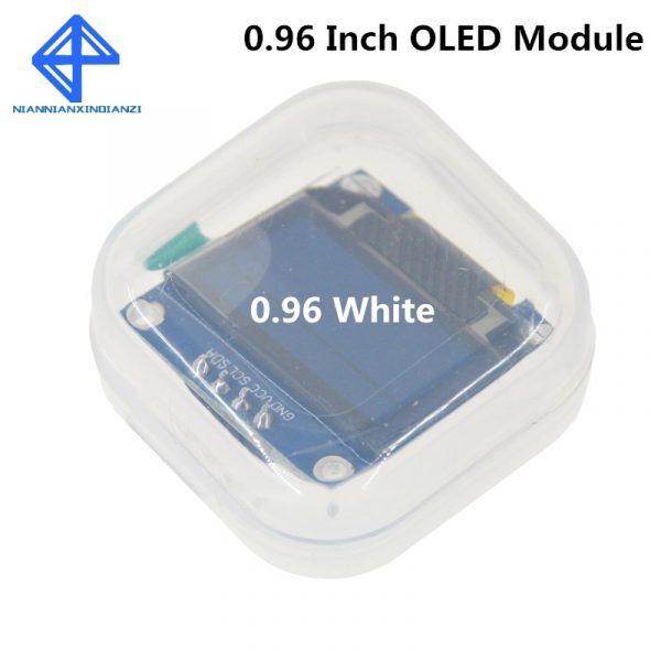 """Module d'affichage pour Arduino LED """"I2C IIC SPI série, couleur blanche, 128X64 O écran LED LCD LED 0.96, nouveau, original"""
