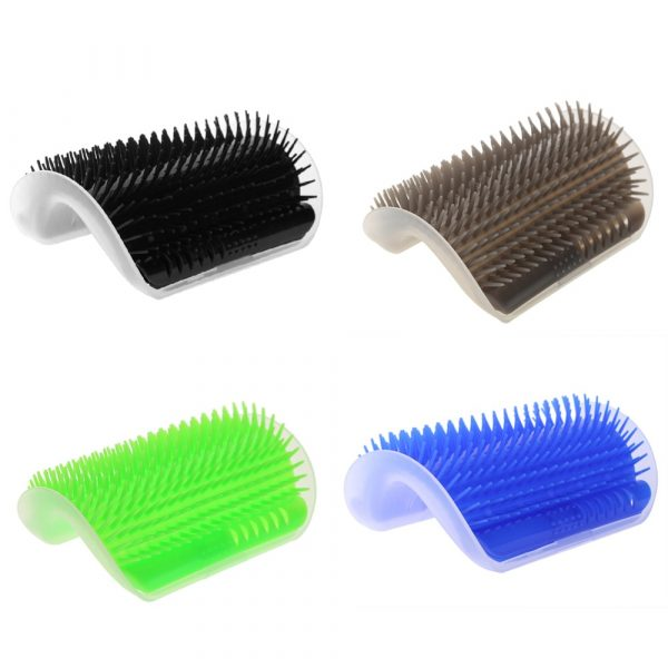 Cats Brush Corner Cat Massage Self Groomer Comb Brush Cat Rubs the Face with a Tickling Comb Cat Product Dropshipping