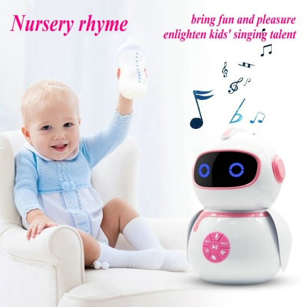 EKSLEN Intelligent Robot Éducation Précoce Machine Smart Enfants AI L'interaction Vocale Robot Wifi Jouet Bébé Apprentissage Histoire Machine