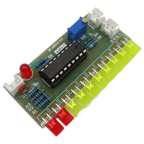 Kit indicateur de niveau LED Audio à monter soi-même, LM3915