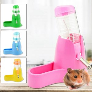 Hamster Water Bottle Small Animal Accessories Automatic Feeding Device Food Container 3 Styles 1 Pc Pet Drinking Bottles