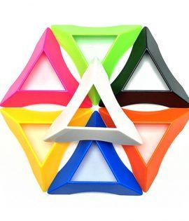 Supports pour cubes magiques de rapidité, 2x 2, 3x3 ou 4x 4, pièces de couleur en plastique pour jouet éducatif et d'apprentissage, qualité supérieure, lot de 10,