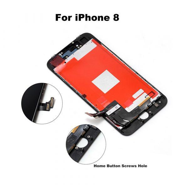 Ensemble écran tactile LCD avec outils, Grade AAA +++, pour iPhone 6 6S 6Plus 6S Plus 7 8