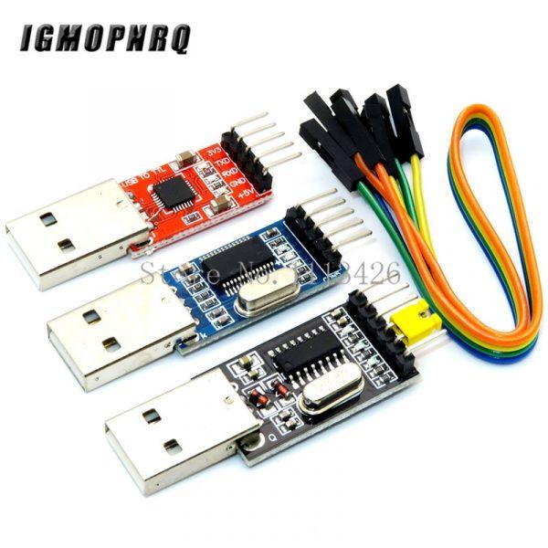 Module USB vers UART TTL à 5 broches, 3 pièces par lot, pour arduino PL2303, 1 pièce de chaque, PL2303HX, CP2102, CH340G