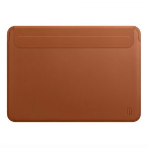 WiWU New Laptop Sleeve for MacBook Pro 13 A2289 A2251 A2159 A1989 Waterproof PU Leather Laptop Bag for MacBook Air 13 A2179 2020