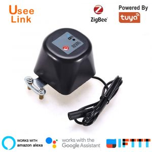 UseeLink Zigbee Valve Smart Water/Gas Valve Smart Home Automation control Work with Alexa,Google Assistant Power by tuya