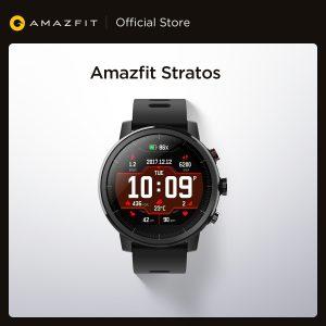 Amazfit – montre connectée Stratos, Bluetooth, GPS, comptage de calories, étanche 50M, pour téléphone Android et iOS, Original