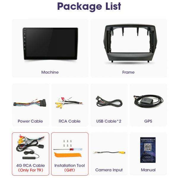 "Vtopek 9"" 4+64G 2din Android Car Radio Multimedia Video Player Navigation GPS For Hyundai Tucson 2 LM IX35 2009-2015 Head Unit"