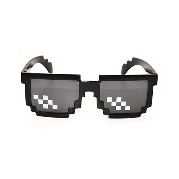 2020 Retro Glasses 8 Bit MLG Pixelated Sunglasses Men's Women's Clothing Brand Thug Life Party Glasses Mosaic UV400 Glasses