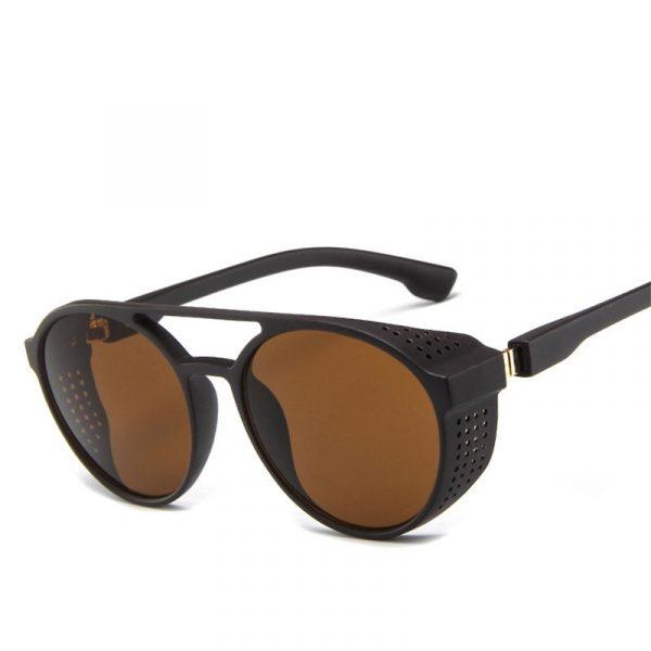 LeonLion — Lunettes de soleil classiques Punk/Vintage pour hommes, lunettes de soleil de styliste pour hommes, lunettes de soleil vintage pour hommes, Punk Oculos De Sol Gafas UV400