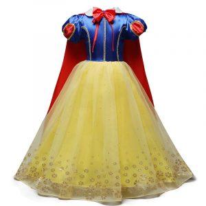 Déguisement d'halloween, anniversaire et noël pour fille,robe de princesse, fête, enfant,