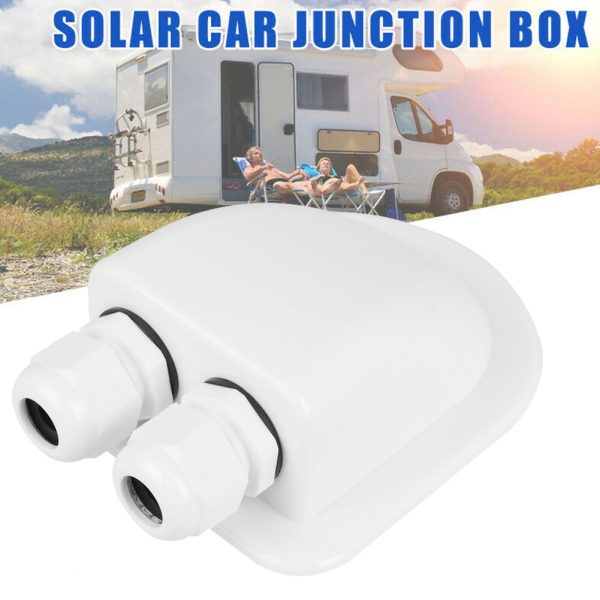 Camper Accessories Caravan Solar Car Junction Box Roof Wire Entry Solar Cable Motorhome Junction Box RV Caravan Accessories