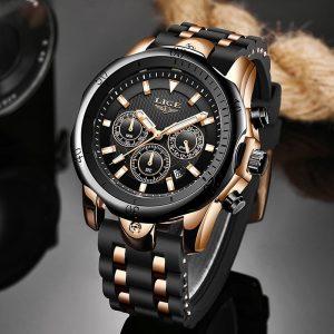Relogio Masculino New Fashion Watch Men LIGE Top Brand Sport Watches Mens Waterproof Quartz Clock Man Casual Military WristWatch