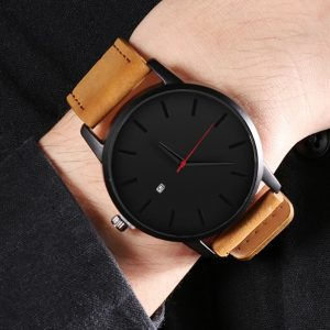 Men's Watches Fashion Leather Quartz Watch Men Casual Sports Male erkek kol saati Wristwatch Montre Hombre Relogio Masculino