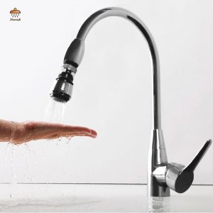 ZhangJi 360 Rotating Water Saving Tap Connector Dual Mode Kitchen Faucet Aerator Diffuser Bubbler Filter Shower Head Nozzle