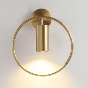 Post Modern LED Luxury Wall Lamp 5W GU10 AC95-260V Ling Room Bedroom Bedside Wall Fixtures Lighting Indoor