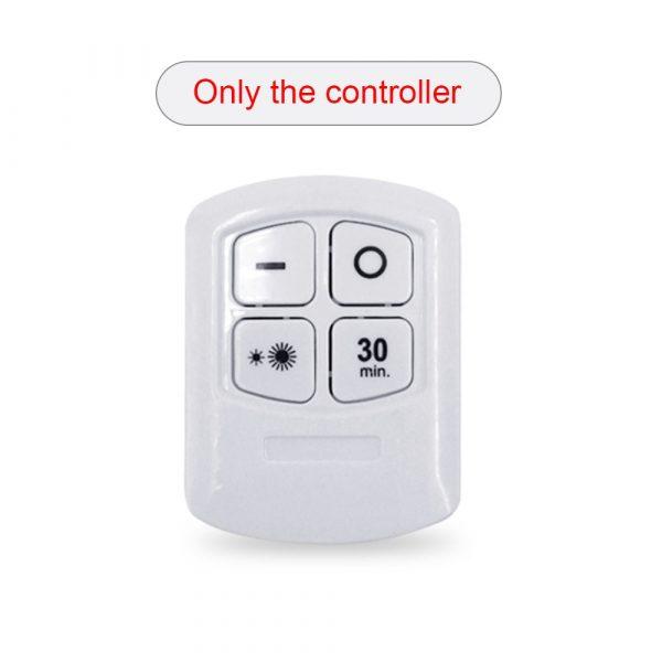 New 5W LED Wardrobe Light Adjustable Remote Control Push Button Showcase Lamp For Stairs Kitchen Bathroom Wardrobe Night Light