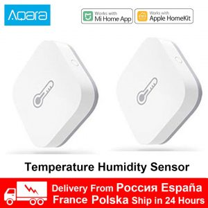 Xiaomi Aqara Temperature Smart Air Pressure Humidity Environment Sensor WIFI Zigbee Wireless For Homekit Mihome Remote Control