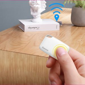 ZK30 Dropshipping GPS Locator Tracker Wireless Smart Tag Key Finder Anti-lost Alarm Finder Locator Wallet Anti Lost Alarm Tag