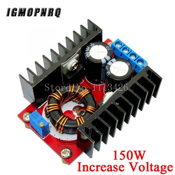 DC 9A 300W 150W Boost convertisseur abaisseur Buck convertisseur module d'alimentation DC 0-100V 10A voltmètre numérique ampèremètre double affichage