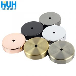 Pendant lamp round ceiling tray wall lamp metal plating base chassis straight edge tray kit hanging lamp accessories