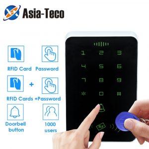 125khz RFID Proximity Card Digital Keypad Access Control System Door Lock Controller RFID Keypad access card reader No backlight
