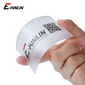 Règle plastique ouvert téléphone portable écran LCD démontage démontage réparation démontage outil d'ouverture levier grattoir outils de mesure carte de visite