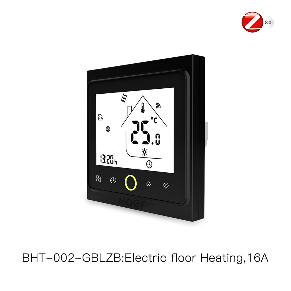 ZigBee Smart Thermostat Temperature Controller Hub Required Water/Electric floor Heating Water/Gas Boiler with Alexa Google Home
